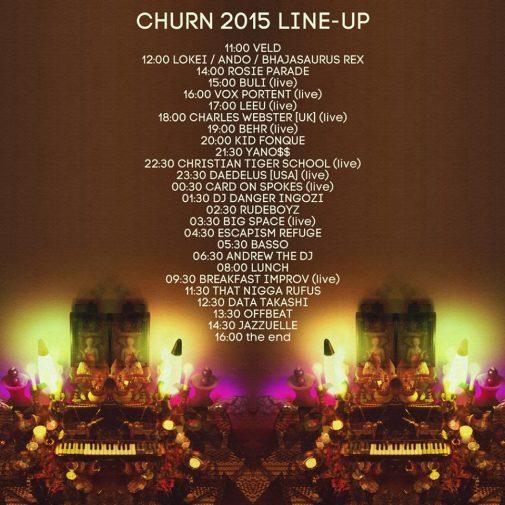 Churn Lineup